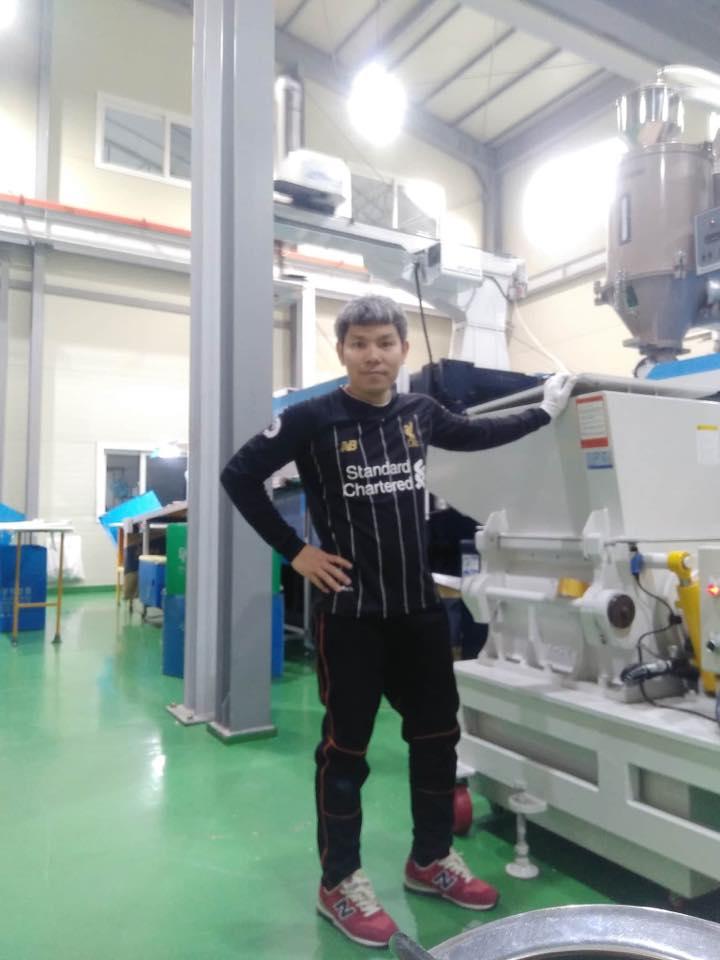 งานโรงงานพลาสติกในเกาหลี